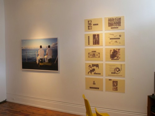 A portrait of the photographer - install shot #4