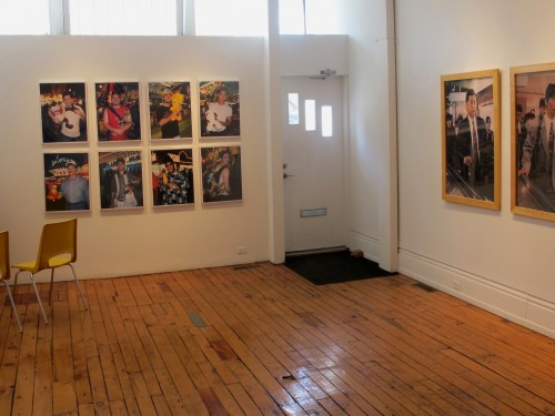 A portrait of the photographer - install shot #6