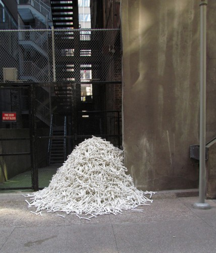 Bone Dump (installation view)