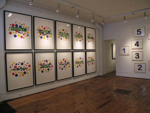 Editions, part one (installation view)
