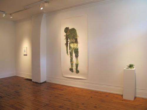 Ditches, Dandies and Lions (installation view)